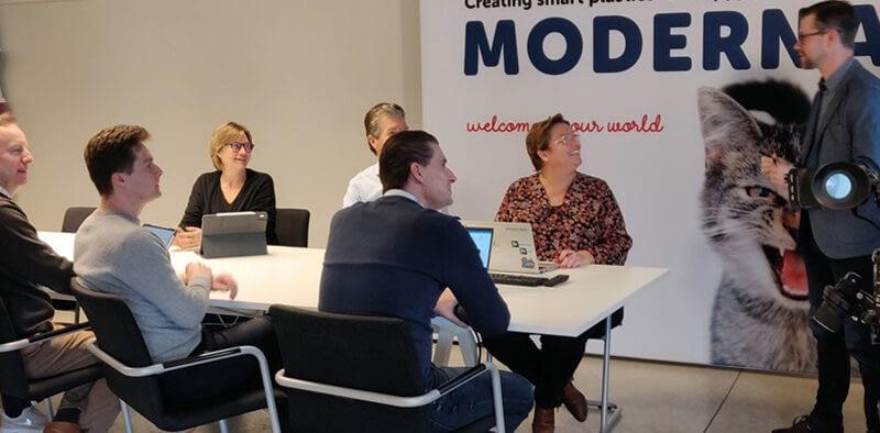 Moderna sustainability and digitization